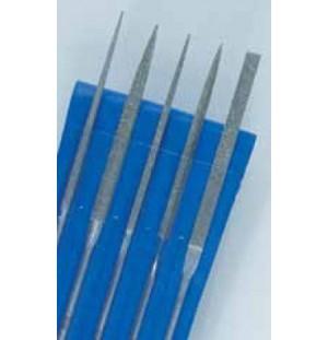 Sada diamantových ručných pilníkov DLH (5 ks)