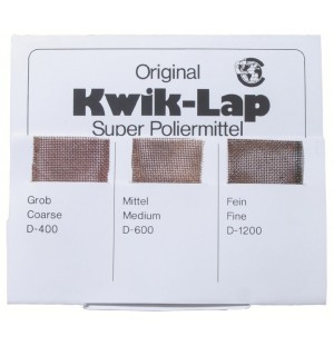 Sada nylonových brúsnych mriežok s diamantom Kwik-Lap