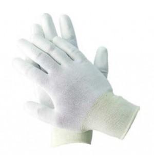 Rukavice s PU špičkami prstov