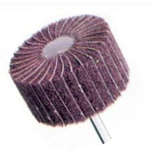 Lamelový brúsny kotúč, stopka ø 6 mm