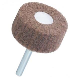 Lamelový brúsny kotúč, korund, stopka ø 6 mm