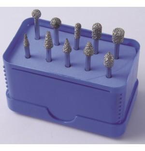 Diamantový brúsny kotúčik s pojivom Vacuum brazed