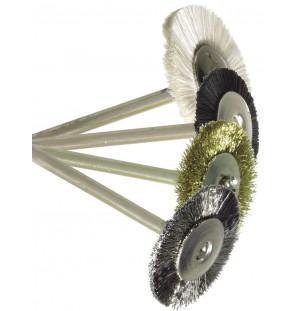 Leštiace kefky - kruh, stopka Ø 2,35 mm