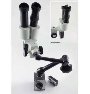 Stereomikroskop, priehľad 0° priamy